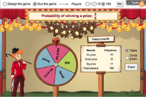 gizmo of the week spin the big wheel explorelearning news