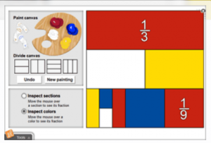 Use Fraction Artist Gizmos in a blended learning classroom