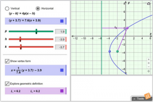 Math Gizmos in high school math classrooms