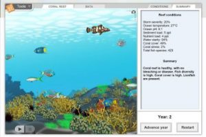Gizmos Coral Reef & providing differentiation in the classroom