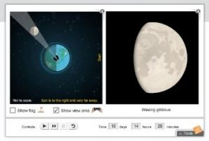 ExploreLearning's Phases of the Moon gizmo