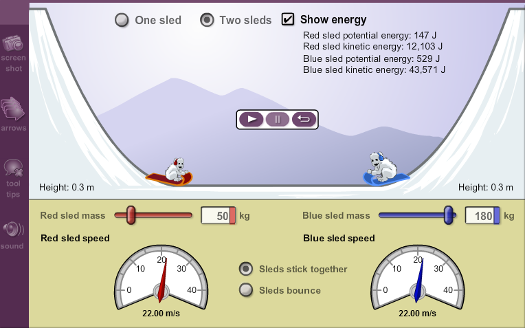 Gizmo of the Week: Sled Wars | ExploreLearning News