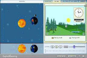 Teachable Moment: Seasons in 3D | ExploreLearning News