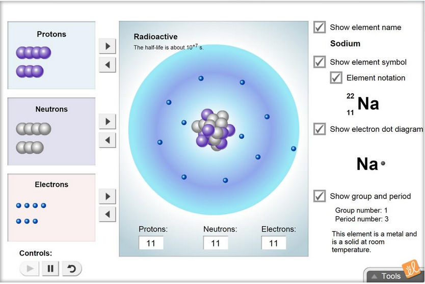 Gizmo of the Week: Element Builder | ExploreLearning News