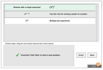 Gizmo of the Week: Exponents and Power Rules ...