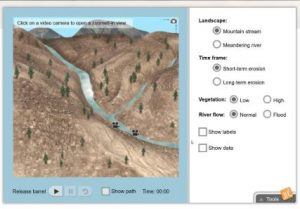 New Gizmo: River Erosion | ExploreLearning News