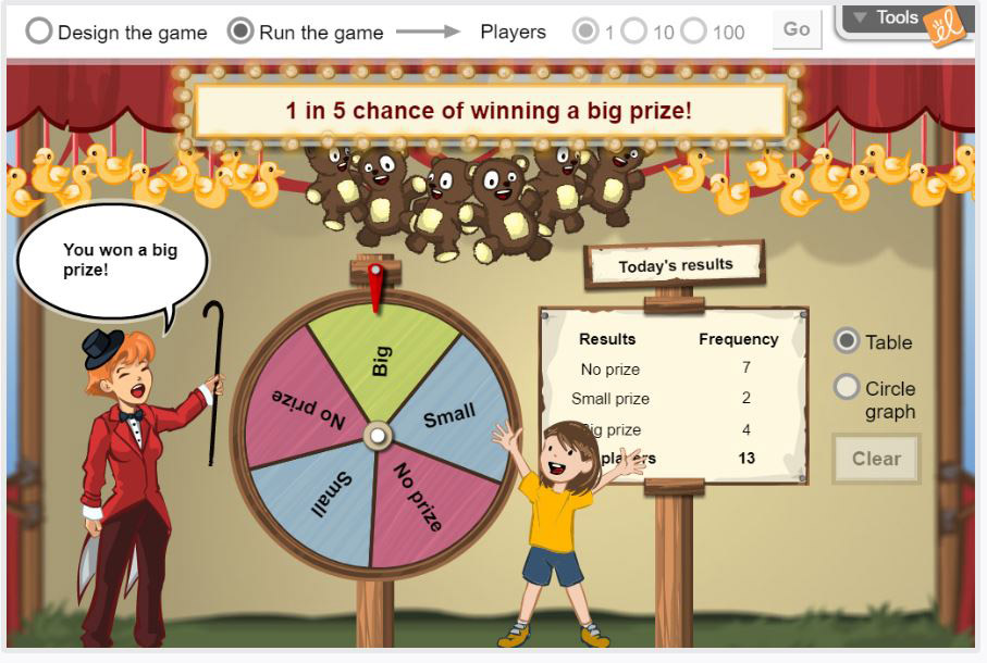 Gizmo of the Week: Spin the Big Wheel! | ExploreLearning News