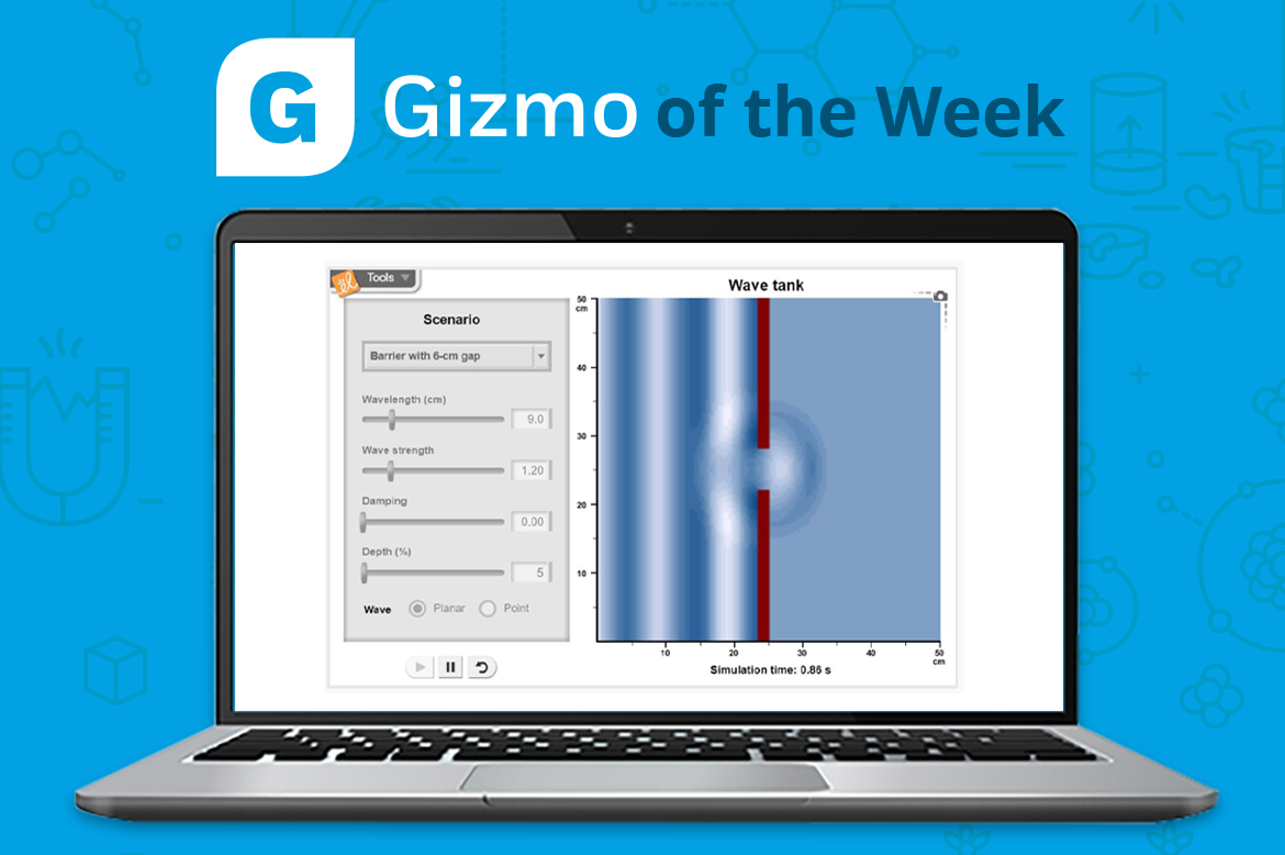 Gizmo of the Week: Ripple Tank | ExploreLearning News