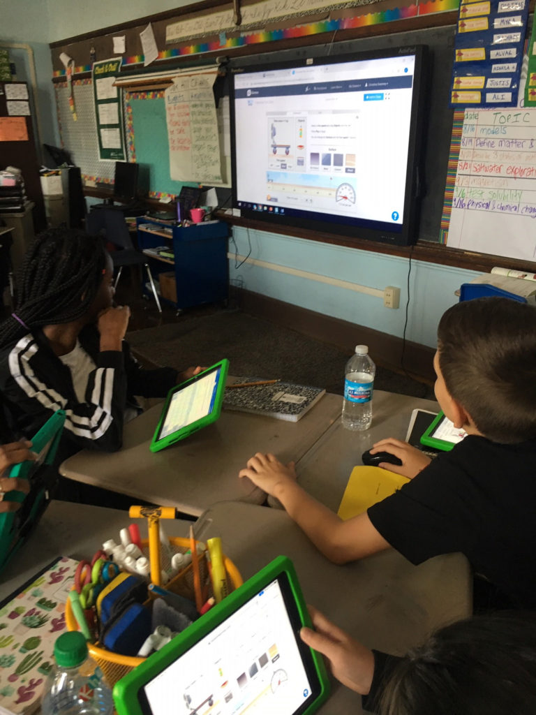 Teacher—and students—are big fans of Gizmos ...